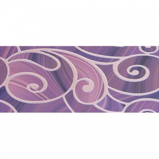 Декор Arabeski purple decor 01 250х600